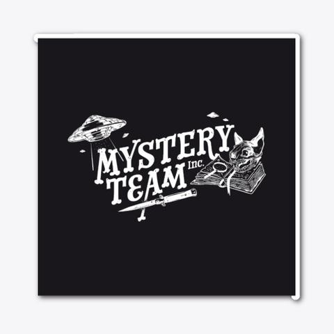 Mystery Team Inc.   Black Standard Camiseta Front