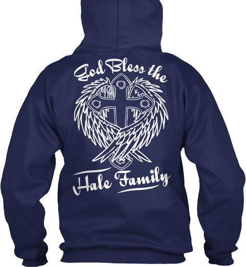 Ble Ss D The O G   Hale Family   Navy T-Shirt Back