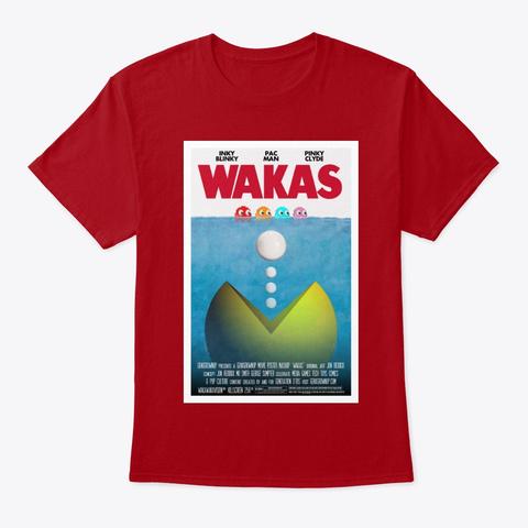 Wakas Deep Red T-Shirt Front