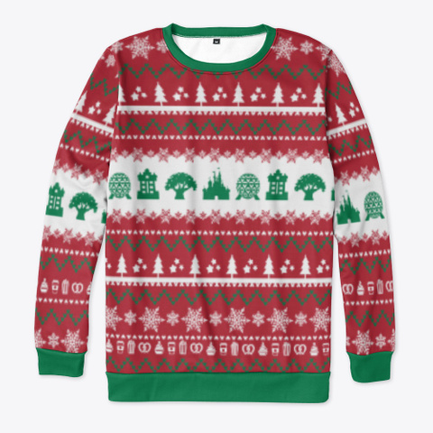 Parks Ugly Sweater Standard T-Shirt Front
