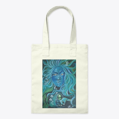Mother Nature As A Woman Pastel Art Natural T-Shirt Front