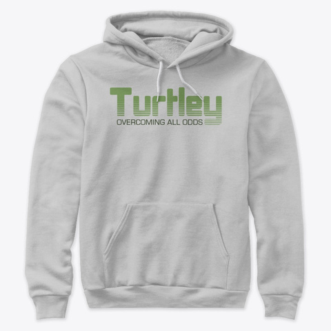 Turtley Tees Athletic Heather T-Shirt Front