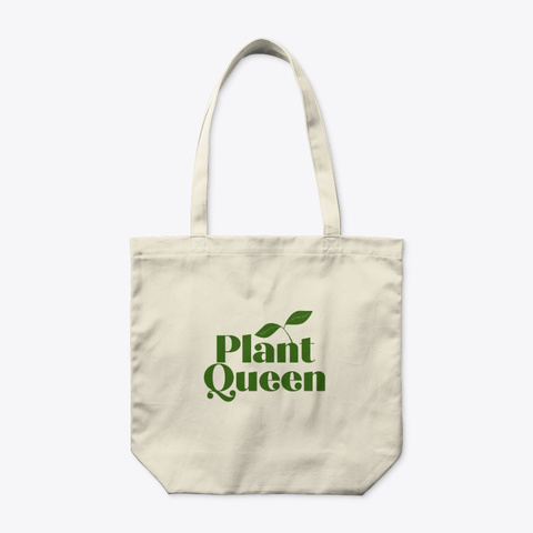 Plant Queen Natural T-Shirt Front