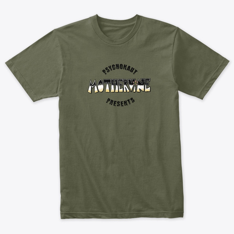 Mother Vine Military Green T-Shirt Front