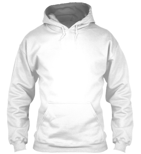 Polycount Hoodie Back White Sweatshirt Front