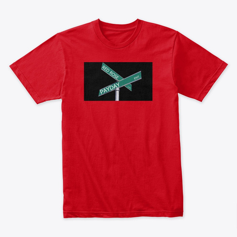 Carolina Captain Clothing By Nadje Red T-Shirt Front