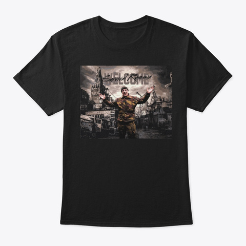 It's Awesome! Black T-Shirt Front