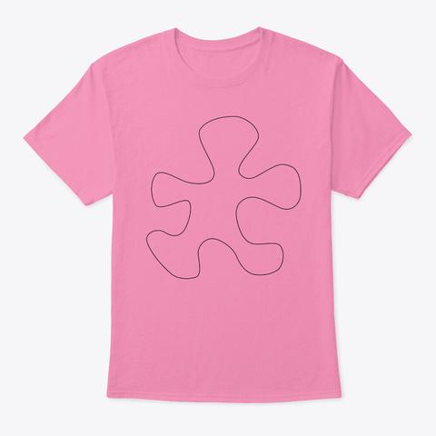 Clip Art Pink T-Shirt Front