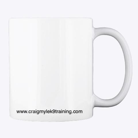 Craigmyle K9 Training  White T-Shirt Back