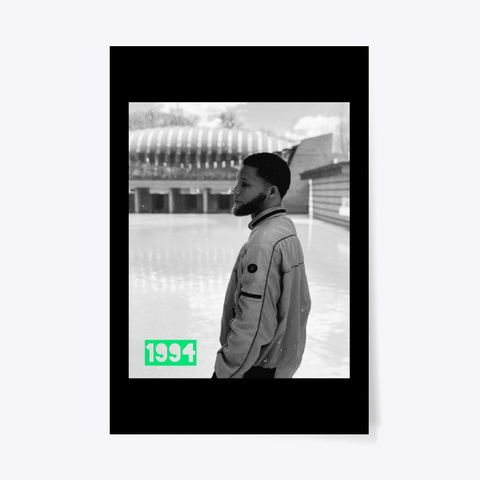 1994 Official Album Cover  Black T-Shirt Front