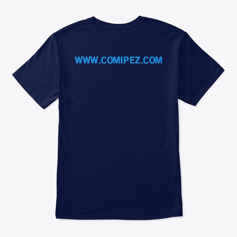 Camiseta Comipez Navy T-Shirt Back