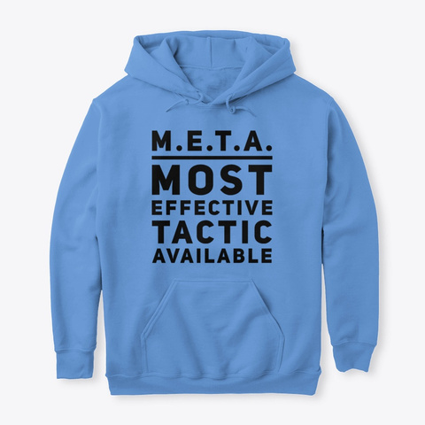 Most Effective Tactic Available Carolina Blue T-Shirt Front