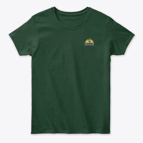 Logo  Forest Green T-Shirt Front