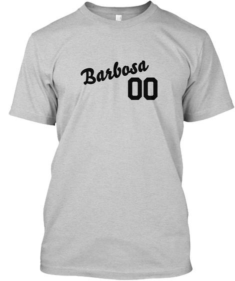 Barbosa Varsity Legend Light Steel T-Shirt Front