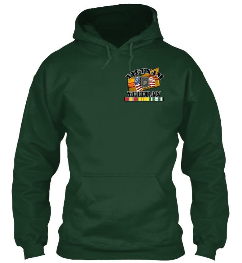 Vietnam-Veteran-Brotherhood-Collection-Gildan-Hoodie-Sweatshirt thumbnail 10