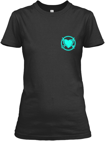 One Hour Left Black T-Shirt Front