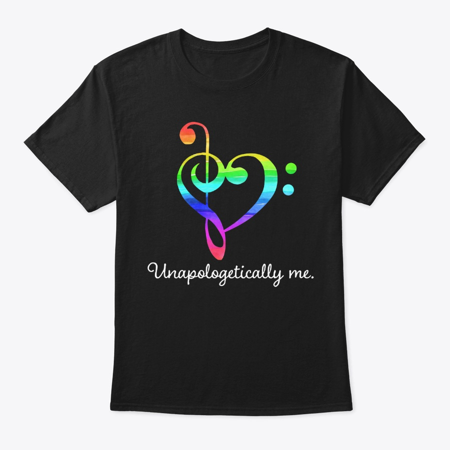 [$15] Unapologetically Me - Music Clef Unisex Tshirt