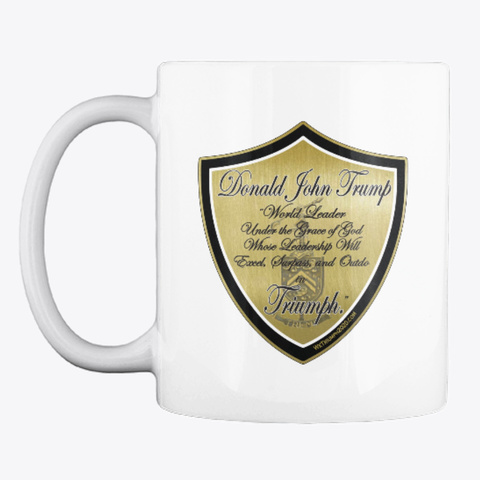 Triumph World Leader Coffee Mug White T-Shirt Front