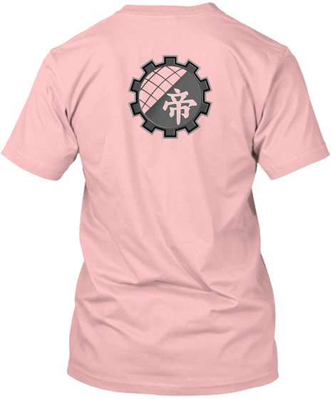 Guilty Gear Player Ouen Campaign Remix Pale Pink T-Shirt Back