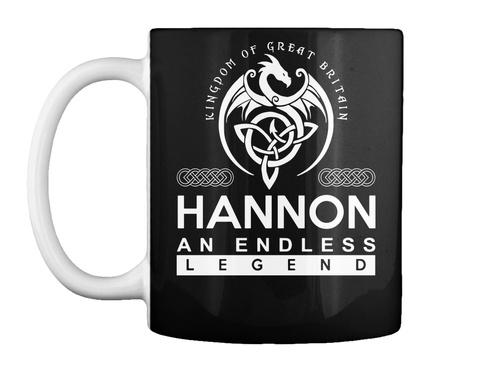 Mug   Hannon An Endless Legend Black T-Shirt Front