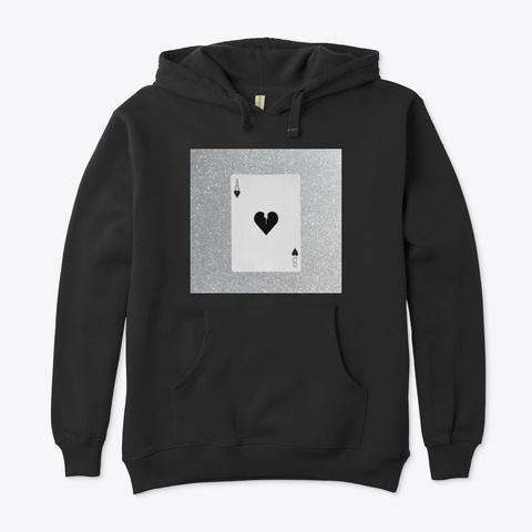 Queen Of Jet Black Hearts Merch Black T-Shirt Front