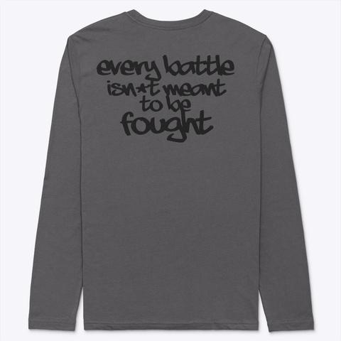 Between Wars Skull Ebattle  Heavy Metal T-Shirt Back