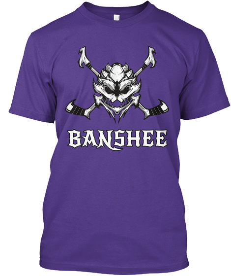 Banshee Purple T-Shirt Front