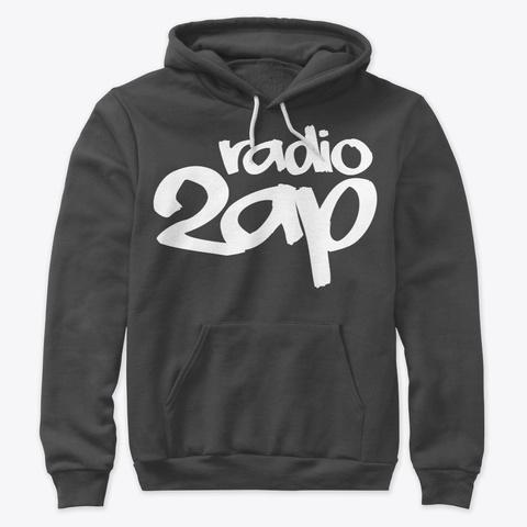 Radio 2 Ap Dark Grey Heather T-Shirt Front