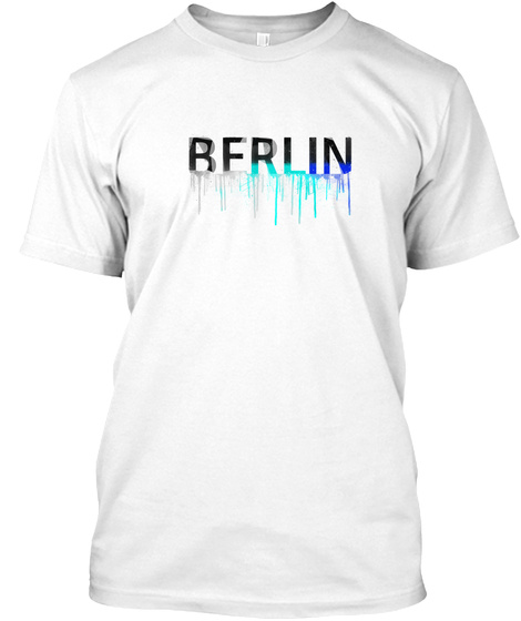 Berlin White T-Shirt Front