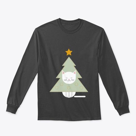 He Art Christmas Dark Heather T-Shirt Front