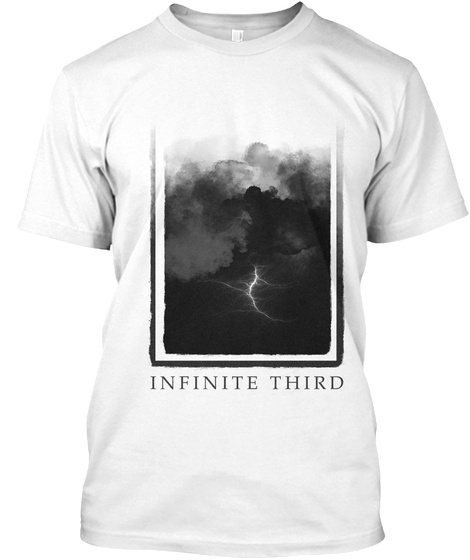 Infinite Third White T-Shirt Front