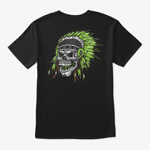 Jimbo Phillips X Shamans Black T-Shirt Back