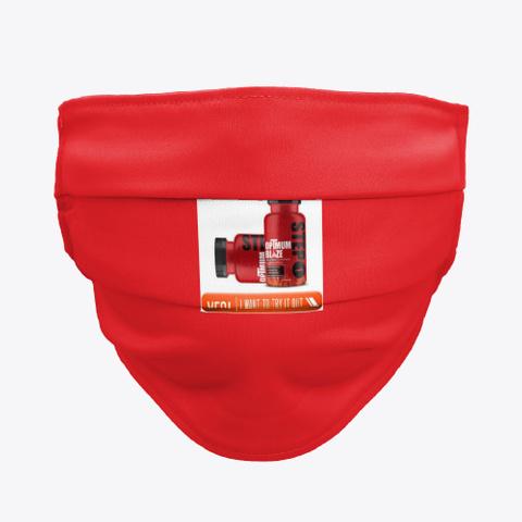 Optmum Blaze Red T-Shirt Front
