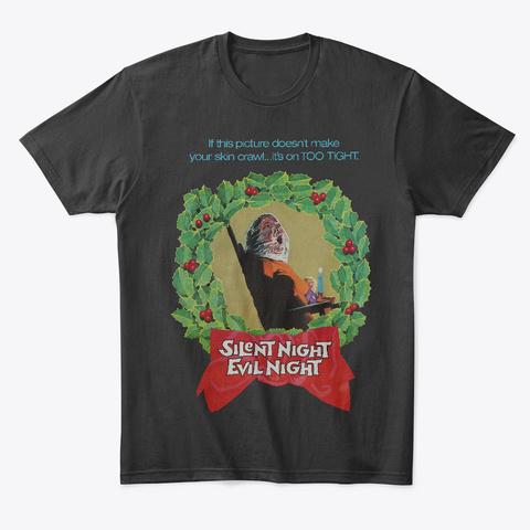 Silent Night Black T-Shirt Front