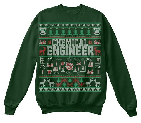 Chemical Engineer Ugly Christmas Sweater Chemical Engineer