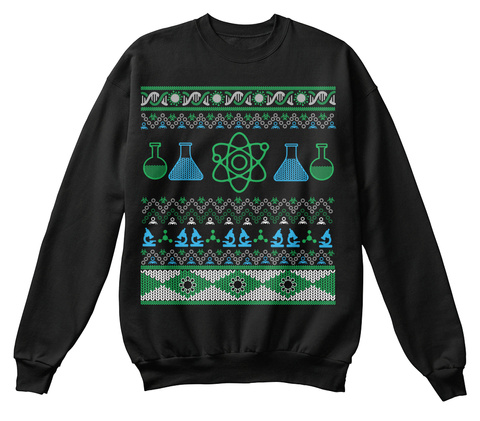 Nerdy Christmas Sweaters.Science Geek Ugly Christmas Sweater