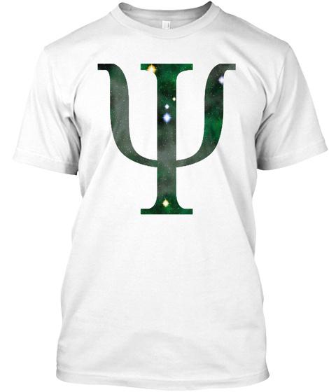 World  Psychology  Symbol  Emotion Perce White T-Shirt Front