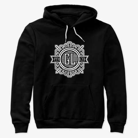 Global League Black Sweatshirt Front