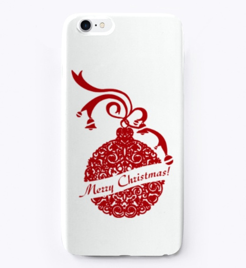 Christmas Gifts Iphone Cover White T-Shirt Front