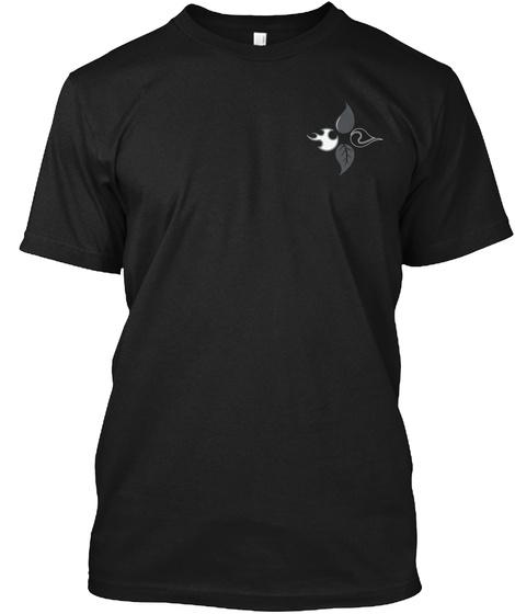 Elements  Black T-Shirt Front
