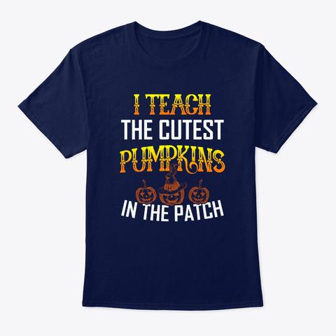 Halloween Navy T-Shirt Front