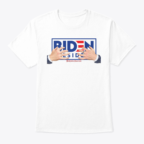 Creepy Uncle Joe 2020 White T-Shirt Front
