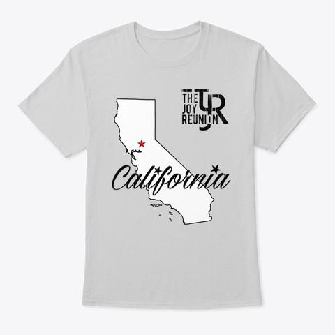 """Tjr """"Golden State"""" T Shirt Light Steel T-Shirt Front"""