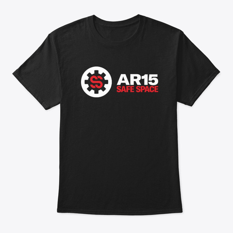 Ar15 Safe Space Apparel & Accessories Black Kaos Front