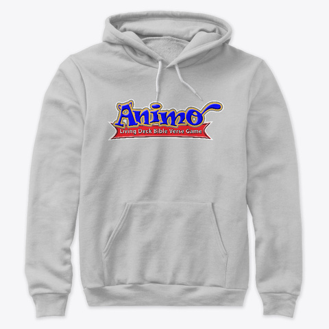 Animo Brand Merchandise Athletic Heather T-Shirt Front