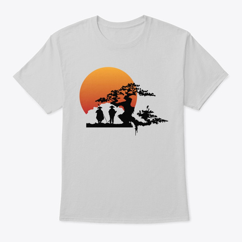 The Journey Of Creation Light Steel T-Shirt Front