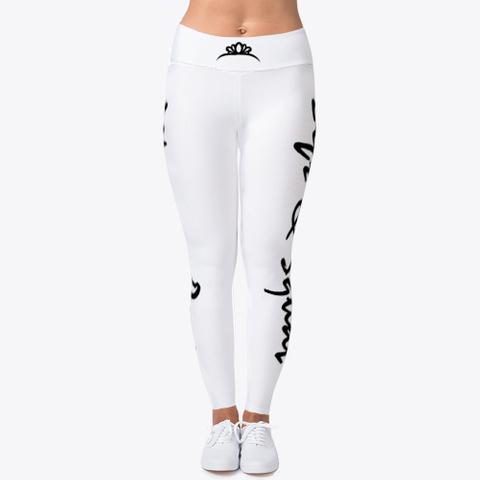 Gym Fitness Leggings Women Power Standard T-Shirt Front