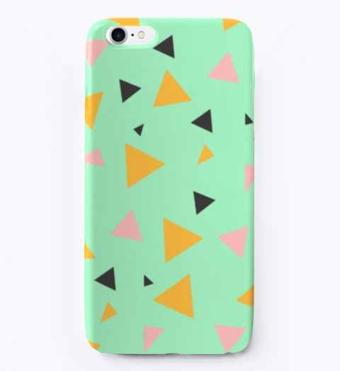 Awesome Geometric Phone Case! Standard T-Shirt Front