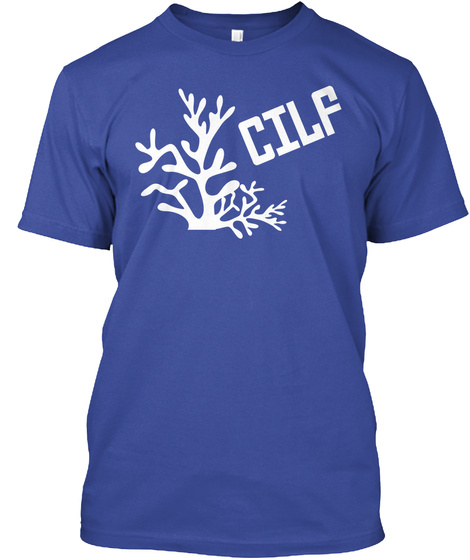 Cilf Deep Royal T-Shirt Front