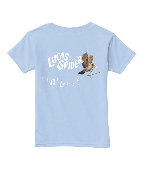 Lucas The Spider Light Blue T-Shirt Back